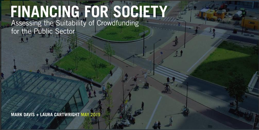 Is crowdfunding a viable alternative for financing public sector infrastructure?  We'll be running a teach in at this year's @LGAComms conference, to demystify the process, and show how crowdfunding can be utilised to create new forms of civic engagment.  https://t.co/TGoLVIJ4b5