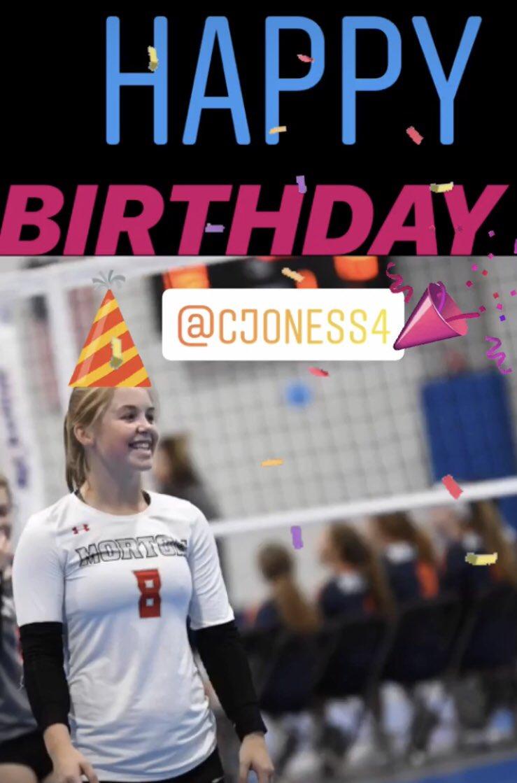 Happy Birthday to senior DS @cjoness3 !!! Have the BEST day!