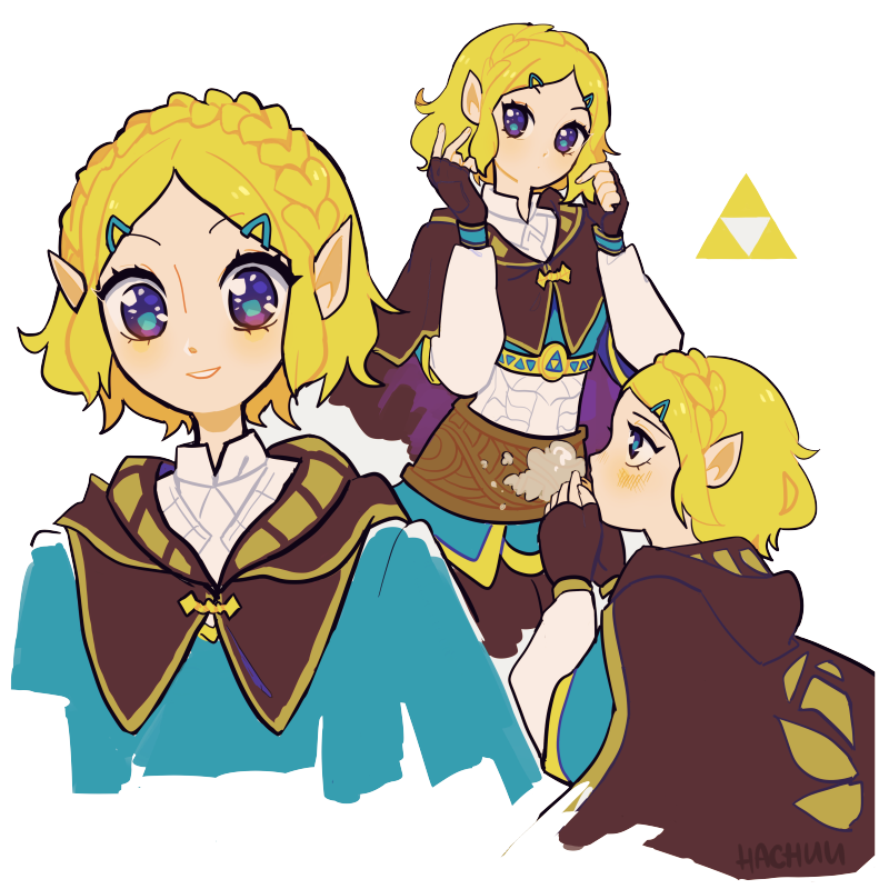 I really love how much Zelda's new hair cut emphasizes her personality. It really suits her!!!! <br>http://pic.twitter.com/qR6WsouEOB