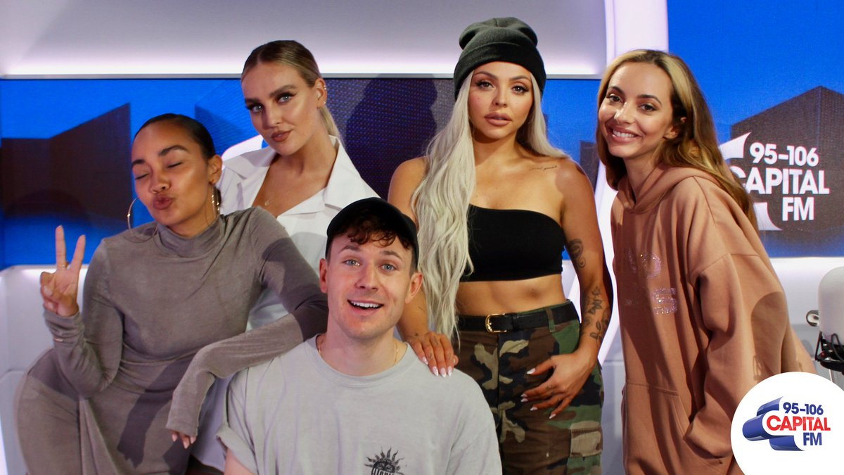 Steady, are you ready... for @LittleMix hanging out on the Capital Evening Show with @hi_jimmy tonight from 7pm 👉 http://capitalfm.co/ListenNow