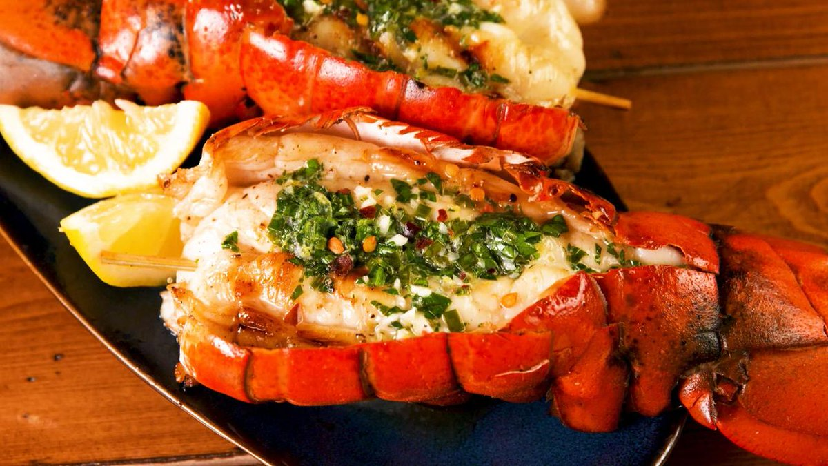 Grilling is the best way to prepare your lobster tails at home.