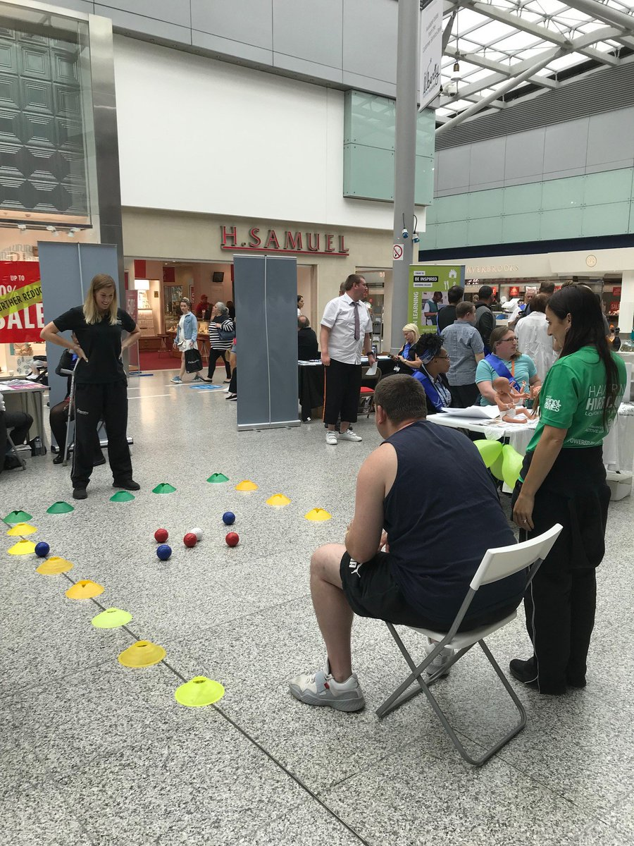 We had a great time promoting our Para Sport at the Learning Disability Event in The Libertybell #Romford today. Enjoyed a few games of Boccia as well as meeting other services and people. Thank you to the @LBofHavering  Community Learning  Disability Team for inviting us.<br>http://pic.twitter.com/RElGrgKLGu