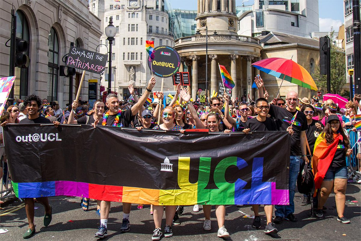 We're glad that this summer will see the largest & most diverse @UCLout presence at @PrideInLondon, @ukblackpride & @TPrideBrighton, and proud that @ucl's research & support for the LGBTQIA+ community is core to what we do: https://t.co/LRS1impUuY #BartlettTogether #Pride https://t.co/BB1cg49AaU