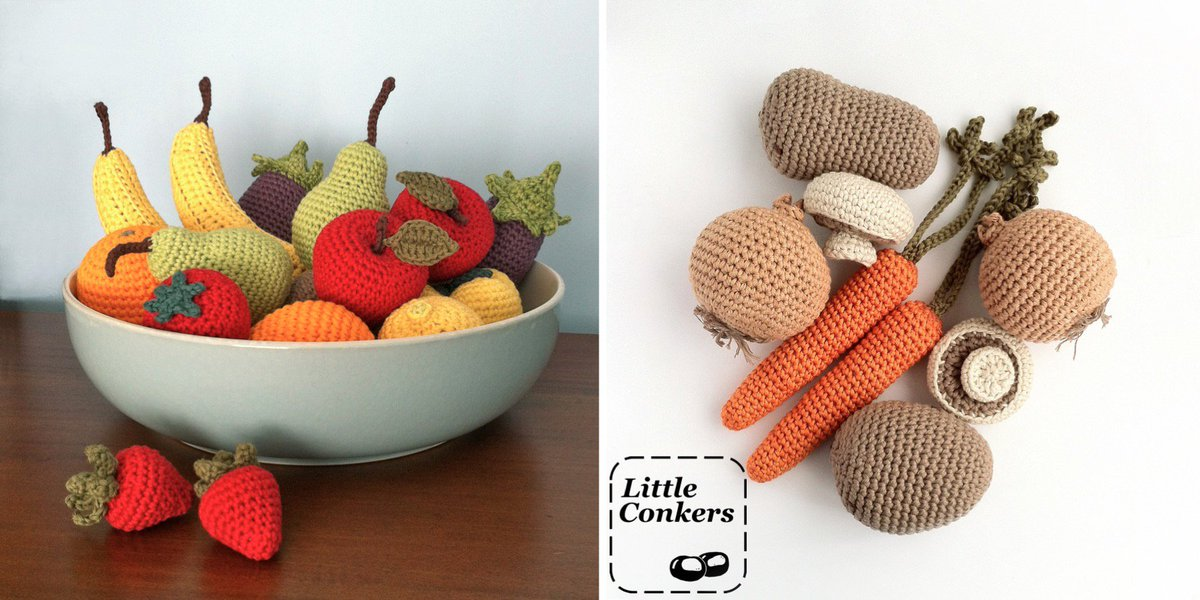 These would make a great gift for an allotment holder or gardener. Fruit and veg of your choice, #handmade in eco-friendly materials.  https://www.etsy.com/uk/listing/151730271 …