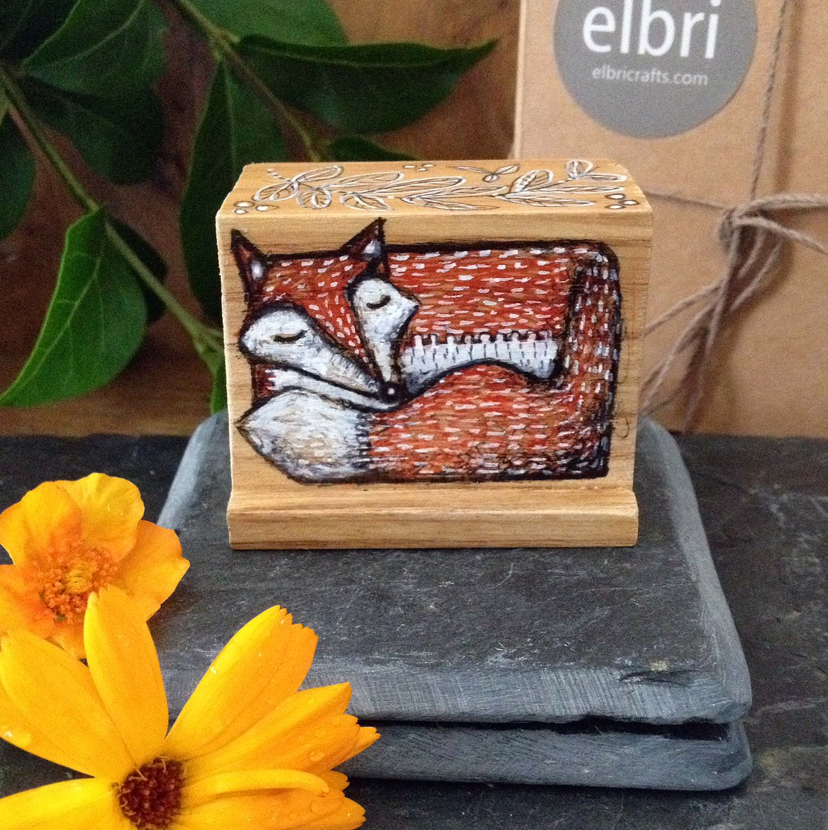 This little sleeping Fox Blox has just sold, but we have 2 others waiting for a new home. Hand painted onto blocks of Scottish ash, they make the cutest little gifts. #womaninbiz #wnukrt #foxes #FirstTmaster #RTmeBB #UKCraft   https://www. etsy.com/uk/listing/696 799220/hand-painted-fox-blox-wooden-art-block?ref=shop_home_active_7  … <br>http://pic.twitter.com/05W1Cftoh1