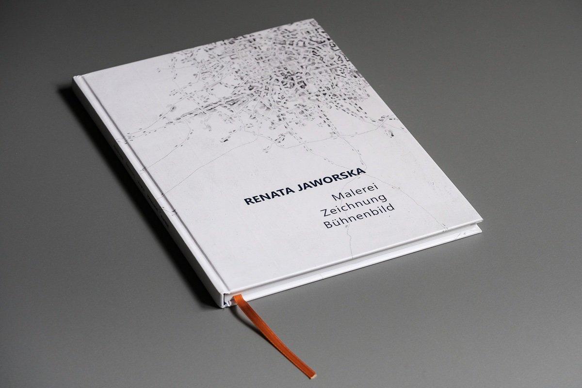 Katalog von RENATA JAWORSKA Malerei, Zeichnung und Bühnenbild, 2019