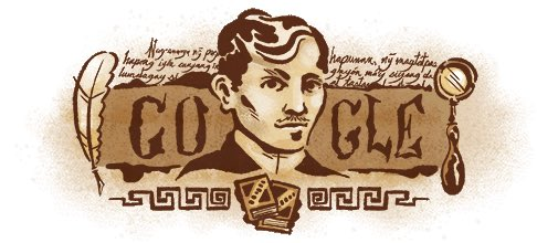 Wowww. Noice! Our very own Pepe is #GoogleDoodle of the day! Happy 158th birthday José Protasio Rizal Mercado y Realonda!!! (I googled that, btw. Lol) #ProudlyFilipino <br>http://pic.twitter.com/EmEZEti8k9