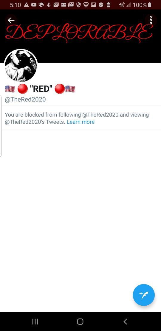 This is what a patroit did to me for no reason claims to be a patroit hell your not and I never seen Carolyn do anything to a vet damn I am one has never disrespected me at  Your doing the same thing on parler spreading lies your no maga or patroit your liberal