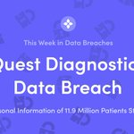 Image for the Tweet beginning: This Week in Data Breaches: