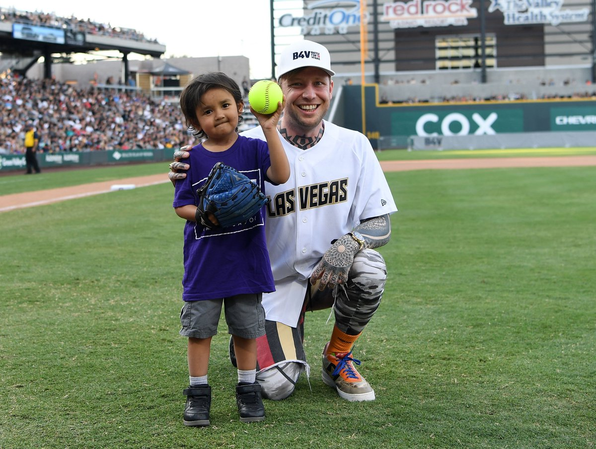 thanks to everyone who came out to support @TRFdotORG at the first @battleforvegas to help us raise $136,000 for pediatric cancer families. special shout out to @reillysmith18 and the other athletes who came out to play. photo: Denise Truscello