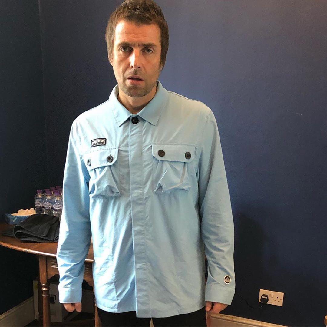 Liam Gallagher wearing