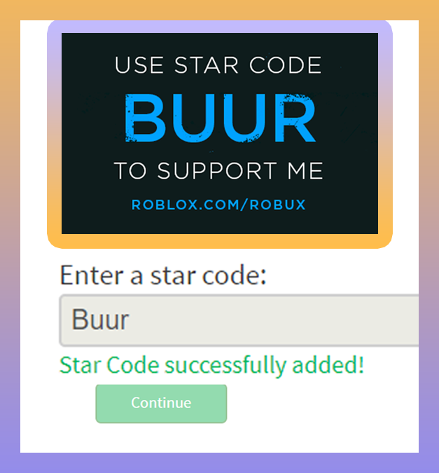 What Is A Roblox Star Code? Buur On Twitter Use Star Code Buur While Buying Robux Or Bc Tbc Obc On Pc If You Don T You Will Face Consequences Https T Co Bwdm76tgea Https T Co Buf3kxojbz