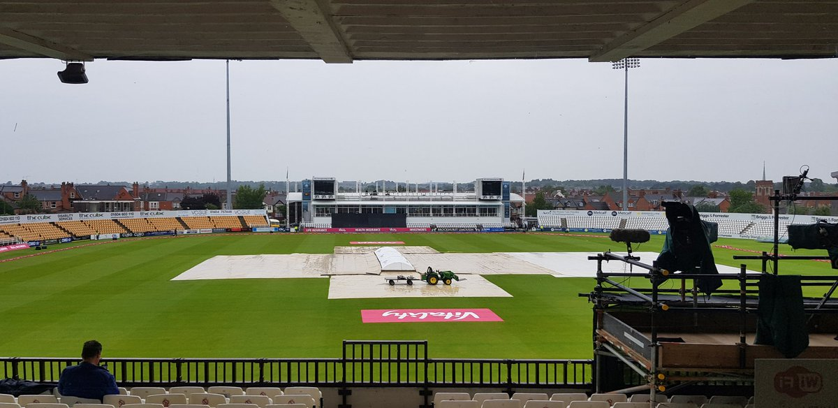 International cricket comes to Wantage Road as England Women host West Indies in first of two T20i here this week, currently a bit damp but hope of it drying up later this evening. #ENGvWI #womenscricket