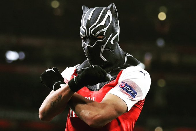 "Happy birthday to our  ""hero\"",  Pierre-Emerick Aubameyang"