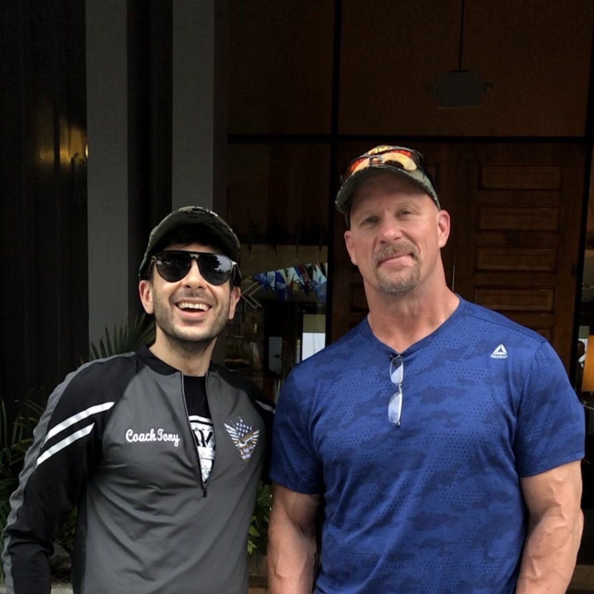 Thank you @steveaustinbsr for having me on your show. Everyone at @AEWrestling worked hard to make Double or Nothing a success; we did big numbers thanks to our great fans + the fact Steve Austin loved the PPV, to me that's the highest praise you can get in the wrestling business<br>http://pic.twitter.com/hPOjbIGSkl