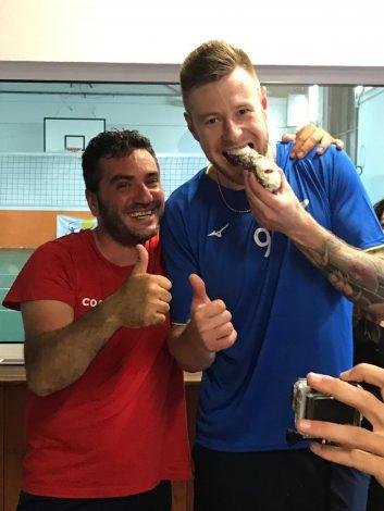 """Lo """"Zar"""" della pallavolo alla palestra Asd Smile Group, un pomeriggio di allenamenti con Ivan Zaytsev (FOTO) - https://t.co/zzLQZ7nFI4 #blogsicilianotizie"""