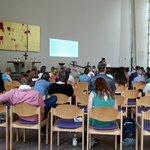 Image for the Tweet beginning: Beim #TagderMediation in der Emmaus-Kirche
