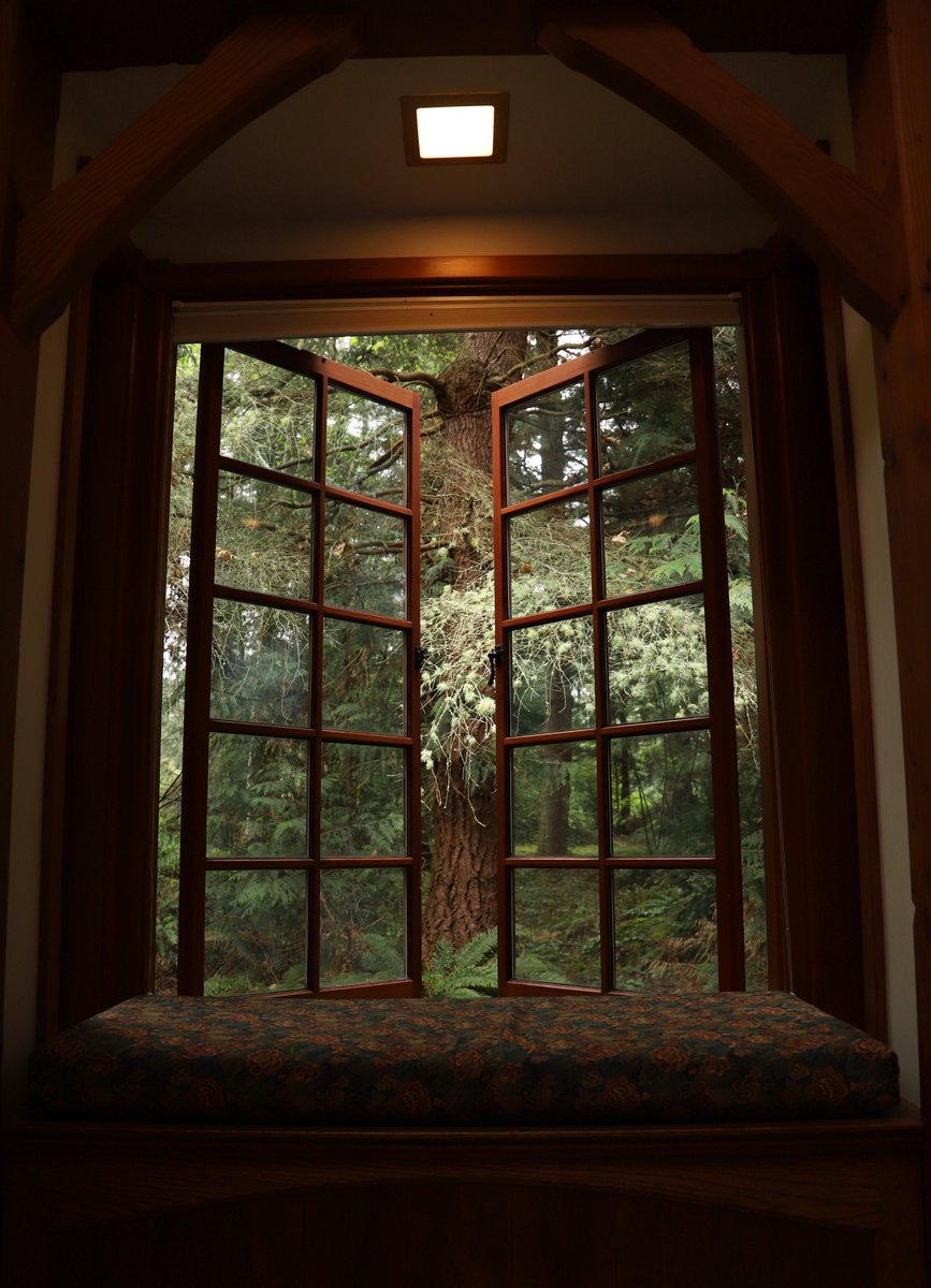 Awe Inspiring Hedgebrook On Twitter Claim Your Window Seat In A Cottage Pabps2019 Chair Design Images Pabps2019Com