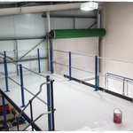 Image for the Tweet beginning: New #mezzanine floor extension took