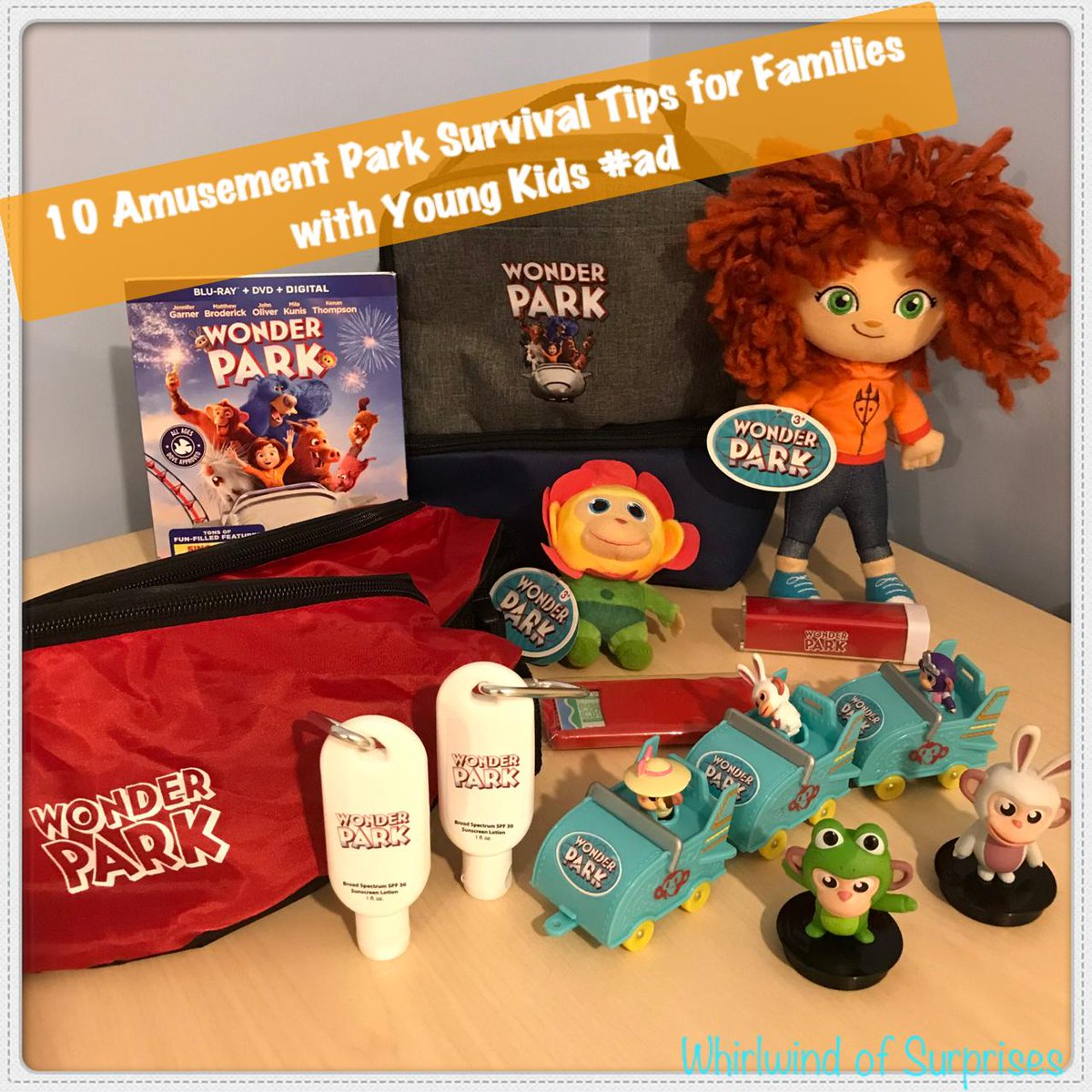 Tips on Surviving Amusement Parks with kids