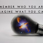 Image for the Tweet beginning: Remember who you are, but