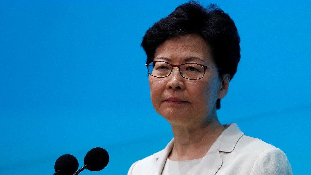 Hong Kong leader says sorry again, won't resign https://reut.rs/2XlbNhX