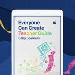 Image for the Tweet beginning: Announcing the #EveryoneCanCreate Teacher Guide