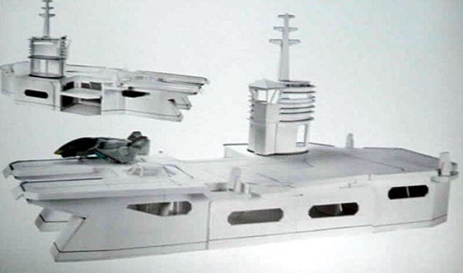 #GIJoe  Prototype pictures of a New USS FLAGG they were going to release with the Resolute Line... revealed at a 2011 GIJoe Convention by #HASBRO    Please make this, it's not to late!!!!!!!!