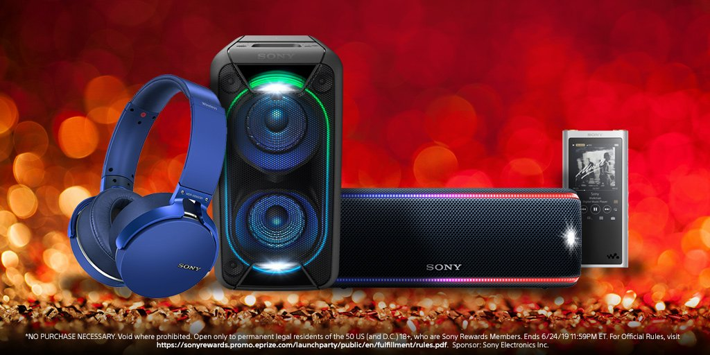 A music lover's dream. Enter for your chance to win a Walkman® ZX Series, EXTRA BASS™ wireless headphones, and more in celebration of the new #SonyRewards app. https://go.sony.com/2UUDuZX  🎧🎶
