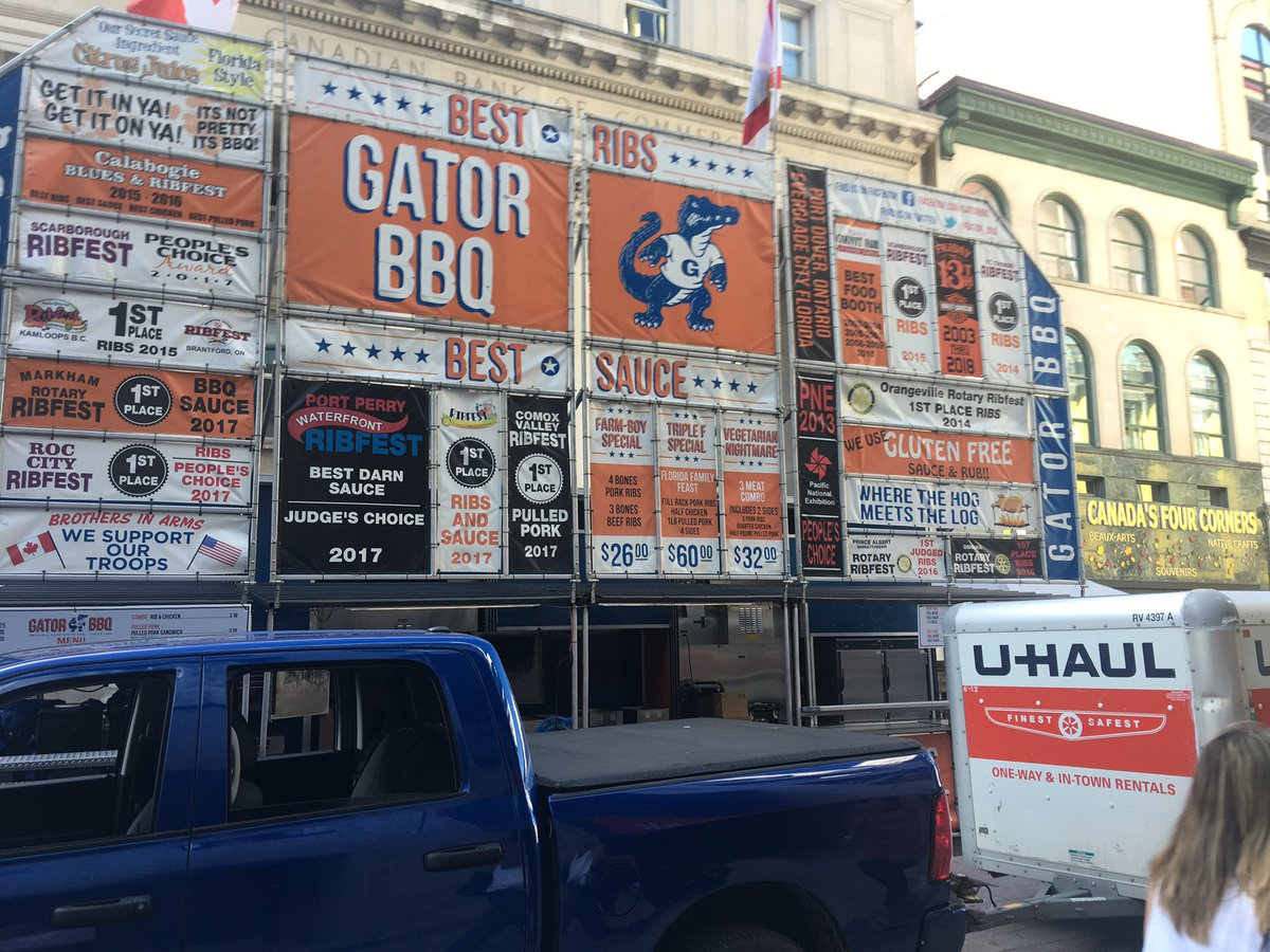 A thing of beauty spotted on Sparks Street #RibFest