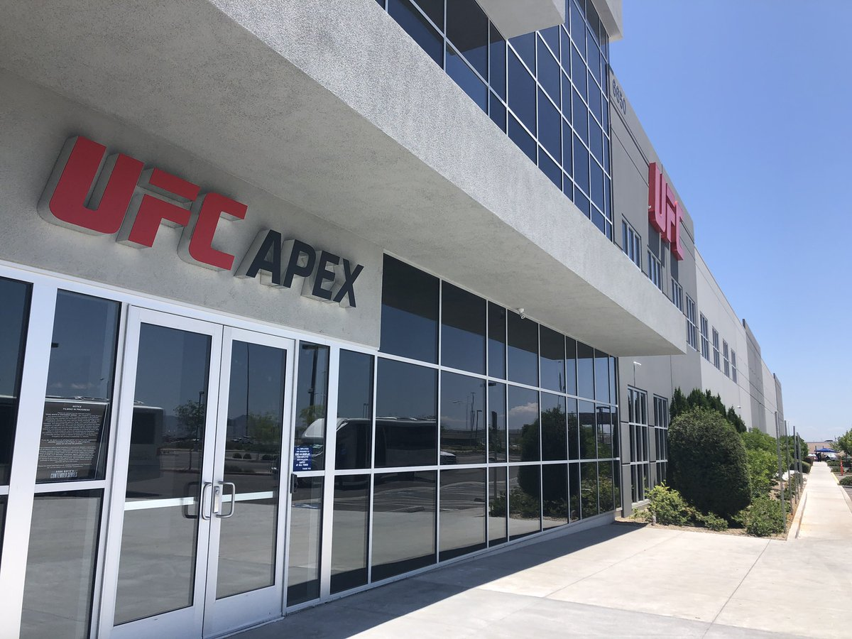 I'm at the new UFC Apex building today for a tour. This is where UFC will hold Dana White Contender Series, as well as other events. I'll be posting video on my Instagram story if you want to follow along, https://www.instagram.com/bokamotoespn/?hl=en…