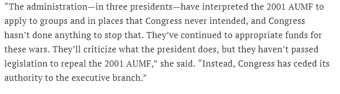 In which my colleague @HBrandonSmith shares her 🔥🔥insight about what's going on with Congress & the AUMF. http://fortune.com/2019/06/18/trump-congress-war-on-iran/ …