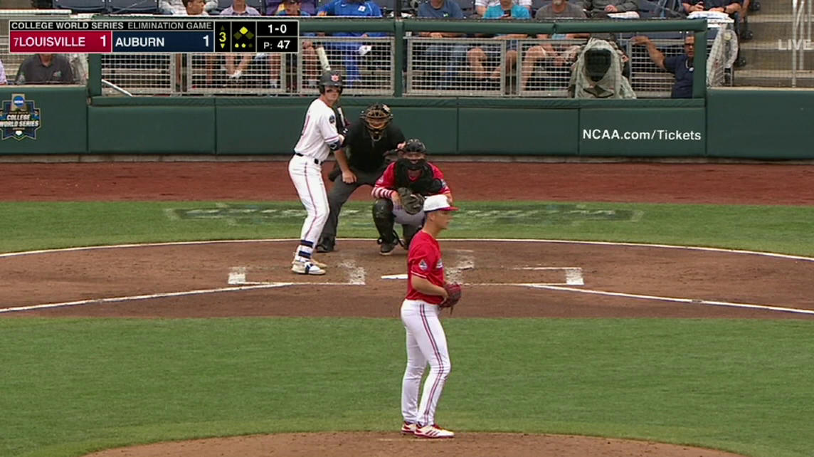 This throw from @6_Campbell_6 😳😳  #CWS | #L1C4 https://t.co/splXojn5fs