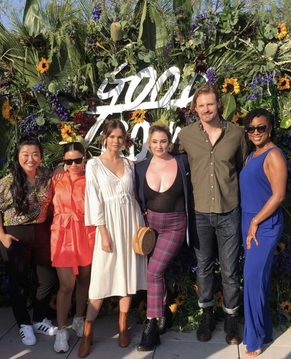 Celebrating season 2 last night with the fam minus a couple. Thank you @FreeformTV for giving us the rooftop soirée of our dreams. #GoodTrouble<br>http://pic.twitter.com/lFVi8T25Xh