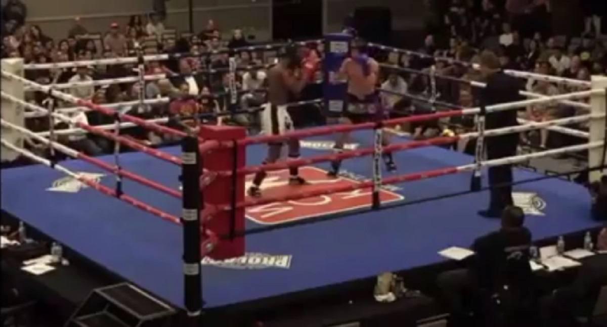 Watch Anderson Silva's Son Gabriel go to Work in Muay Thai Debut - https://www.themix.net/2019/06/watch-anderson-silvas-son-gabriel-go-to-work-in-muay-thai-debut/… #MuayThai #WCK