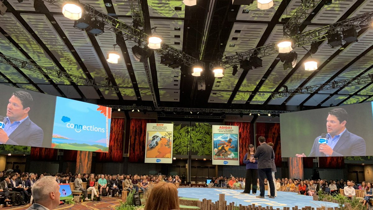 Not so long ago, I sat in sessions at Connections & envied the tech that companies were using.  Today, I cheered for my colleagues on the #CNX19 stage as they shared the innovative ways our company is moving forward.  So surreal yet rewarding for the hard work that got us here 🙌