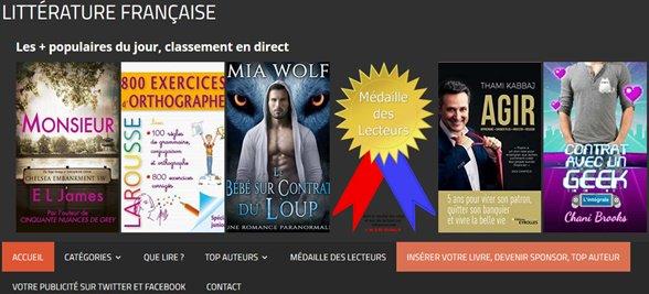 Nouvelles idées de #lecture avec les #livres les plus  consultés sur la plateforme de la #littérature francophone Classement mis à jour en live https://www.lalitterature.net