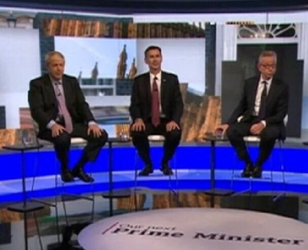 Cilla: Here's our Graham to give you a quick recap   Graham: Well Sandra, will it be number 1,  a useless lying Tory cunt? Or maybe number 2,  A lying useless cunt of a Tory? Or perhaps number 3,  A lying Tory useless cunt?  The choice is yours! #BBCOurNextPM <br>http://pic.twitter.com/zz1j8Bkmhk