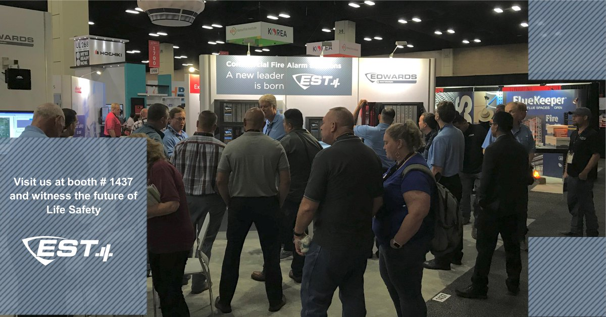 We're at the NFPA Expo. Stop by our booth #1437 and brace yourself to be impressed! https://t.co/6aBLs0uRhr