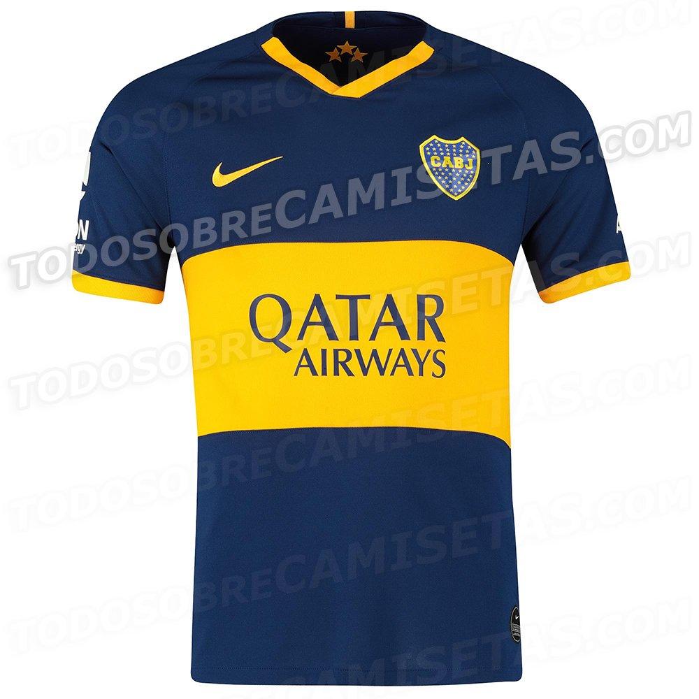 Camiseta Nike de Boca Juniors 2019-20 - Todo Sobre Camisetas