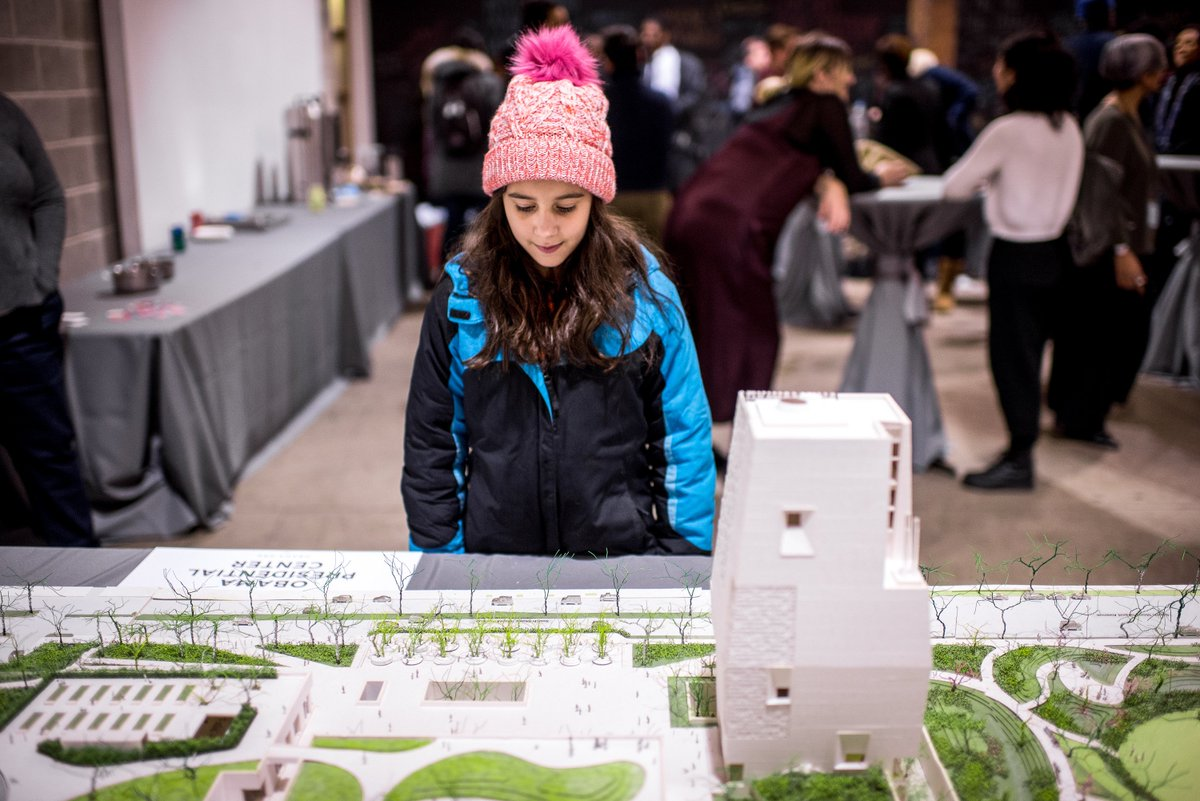 Not all museums are about the past.  The Obama Presidential Center: Coming to historic Jackson Park on Chicago's South Side <br>http://pic.twitter.com/aFVJX52k4S