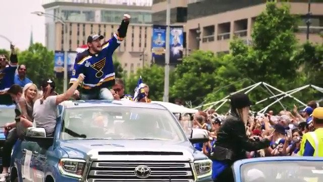 We always dreamed of that #StanleyCup parade down Market Street, but never in our wildest dreams could we have imagined it would be that extraordinary. #stlblues #WeAllBleedBlue