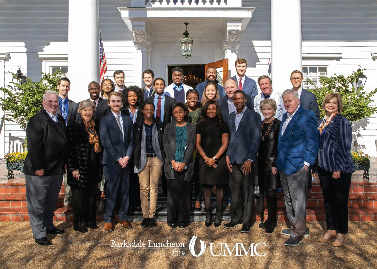 The Barksdale family has made enormous contributions to furthering medical education in Mississippi. For me, their scholarship was life changing. Here's to the future & a healthier Mississippi. #shiftingthenarrativeforward #healthierMS #payitforward <br>http://pic.twitter.com/nJR6KheHmM