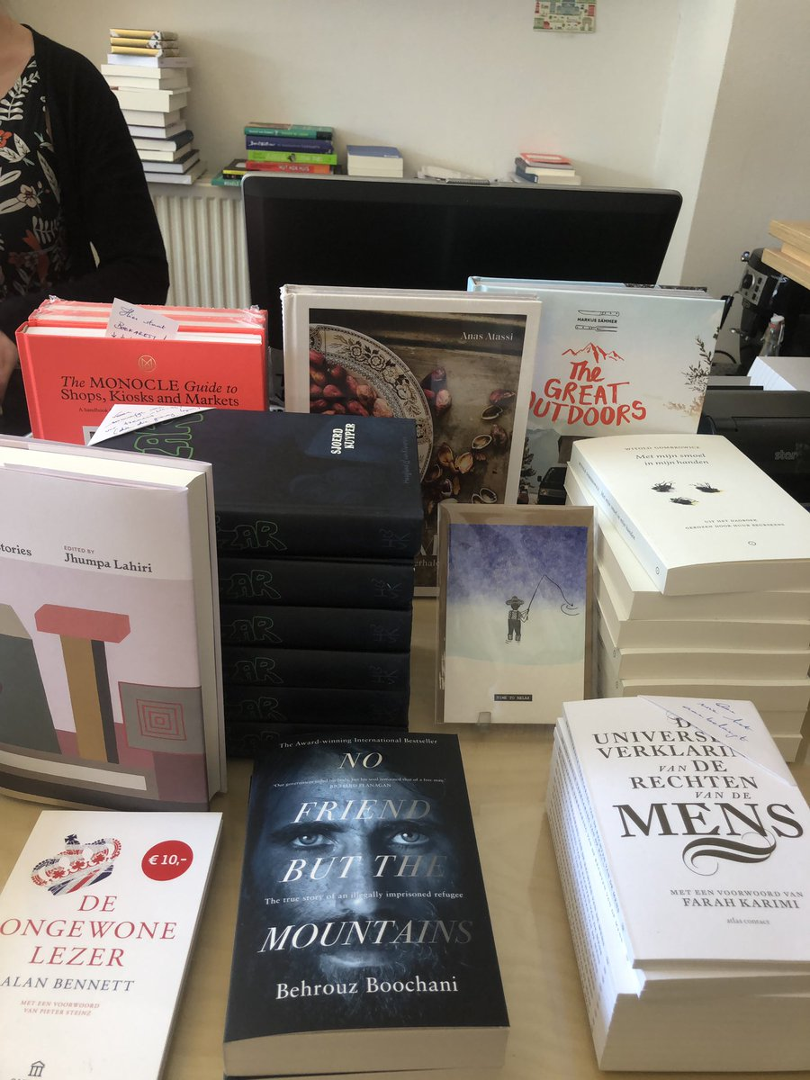 Behrouz  Your Book is on display on Front counter in a bookshop in Leuven Belgium. You are denied travel rights but your spirit and reflections are going around the world. Hey travellers let's see some more photos of Behrouz book enlightening minds across the world