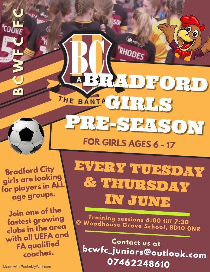 Bradford City Girls (@bcwfc_girls) | Twitter