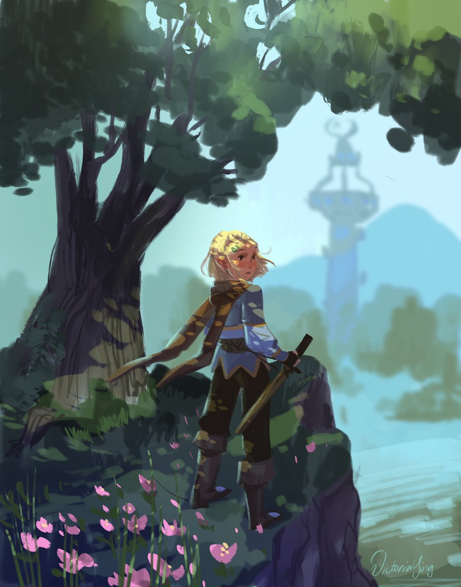 Zelda, Breath of the Wild 2 fanart! I've posted the process video and PSD for my Patreons! #zelda #botw2<br>http://pic.twitter.com/QlRPaOz4HT