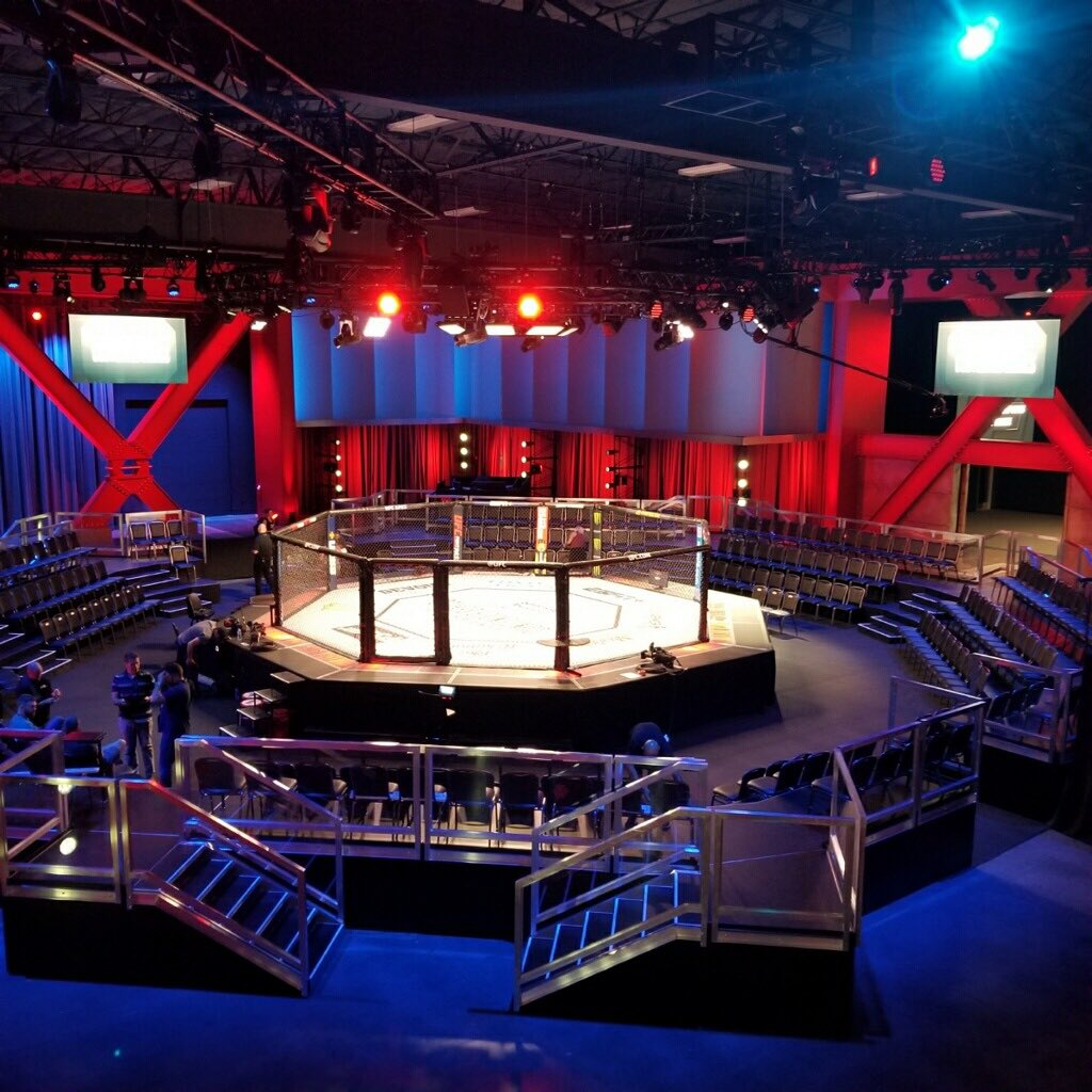 Dana White says the public is welcome to show up to watch the Contender Series fights at UFC APEX tonight. No tix necessary, just show up.