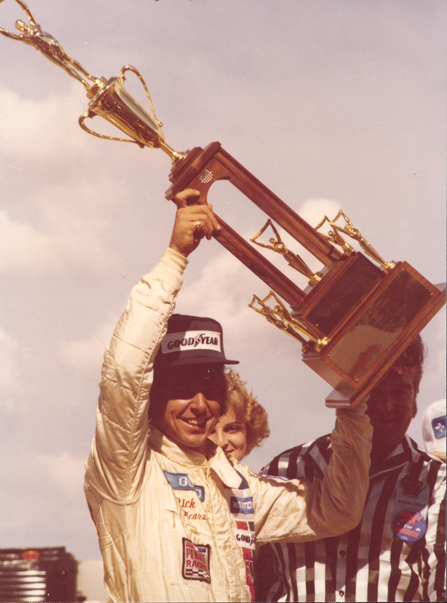 On June 18, 1978 Rick Mears won his first race with Team Penske at Milwaukee Mile. 🏁 The win was also Team Penskes ninth @IndyCar win.