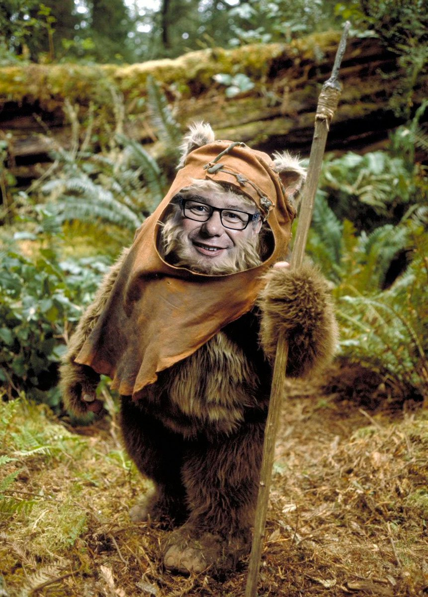 Sorry, couldn't resist  Mark Mark Francois as an Ewok