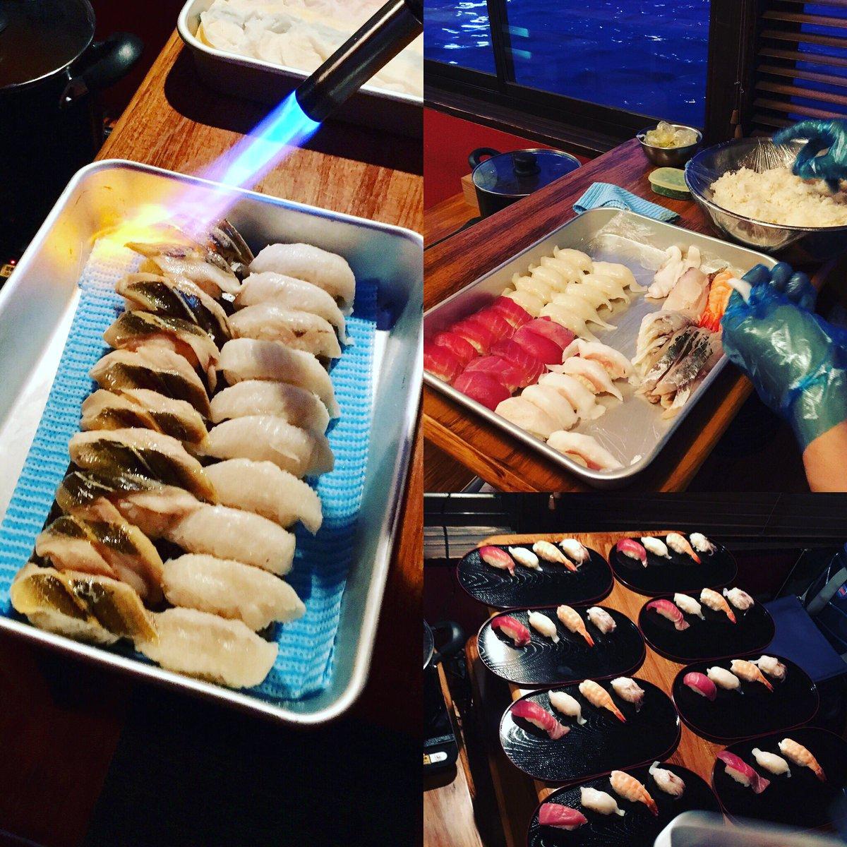 test ツイッターメディア - 昨年から夢観月でもお世話になっている、お一人様2000円で出張してくれる寿司職人が、とても好評で寿司職人のスケジュールで予約の日程が決まる。。。 #寿司 #出張 #味噌汁付き https://t.co/h66xTXu1WF